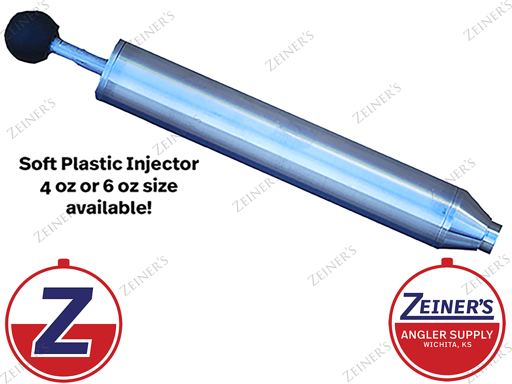 91361 Injector for soft plastic injection molds New Medium 6 oz capacity