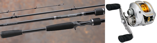 Zeiner's Bass Shop - Team Daiwa Zillion Rod & Reel