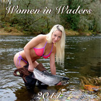 Women in Waders Calendar 2014